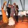 met Martijn Padding in Bimhuis, World Harp Congress 2008,